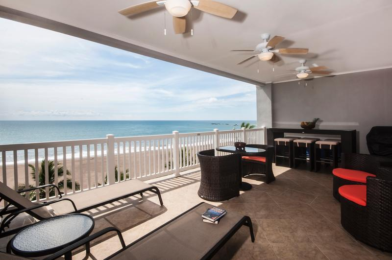 The Palms 603 Beach View - Image 1 - Jaco - rentals