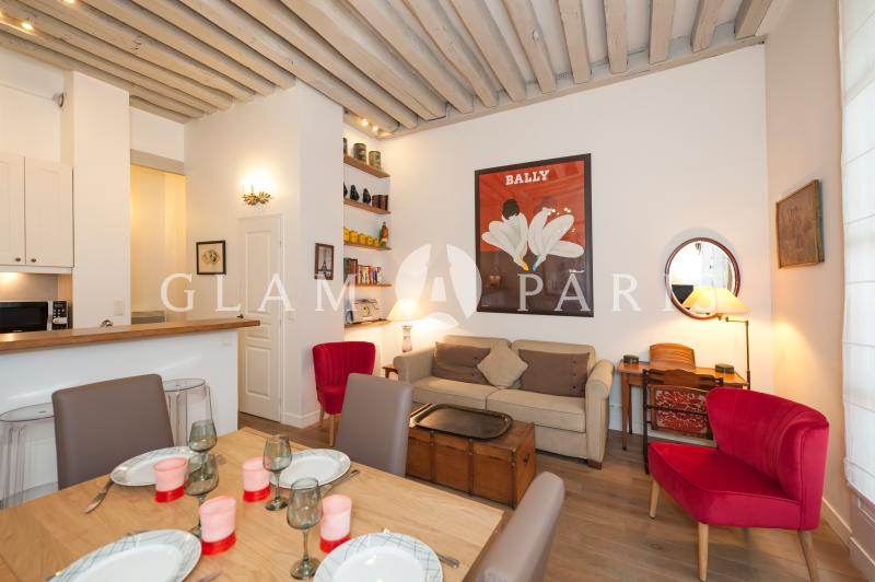 Dining area - Charming 2BR in Saint Germain des Près - Paris - rentals