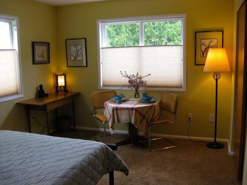 Studio Bedroom - 1BR/1BA Two Room Studio - Olympic Vacation Rentals - Port Townsend - rentals