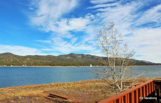 Gorgeous View from Both Cabins - Modern Lakefront Combo: Lakefront Duplex - Big Bear City - rentals