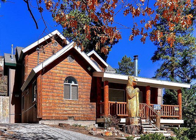 Beautiful Slope Side Bear Mountain Lodge.  Spa and Pool Table! - Image 1 - Big Bear Area - rentals