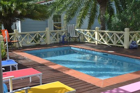 The Limes, Harbour View with a pool! Sleeps 6 - Image 1 - Jolly Harbour - rentals
