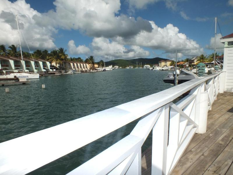 Lower Gatzby Apartment, South Finger Jolly Harbour - Image 1 - Jolly Harbour - rentals