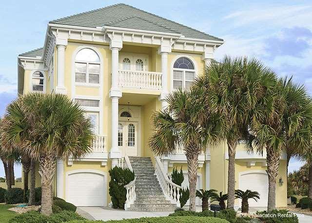 Ocean Ridge Mansion has unobstructed sea views! - Ocean Ridge Mansion, Private Pool, HDTV, sleeps 12 - Palm Coast - rentals