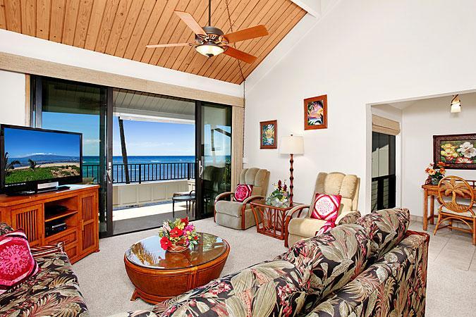 Ocean Front Prime 2 Bedroom Deluxe Condo Unit 27 - Image 1 - Lahaina - rentals