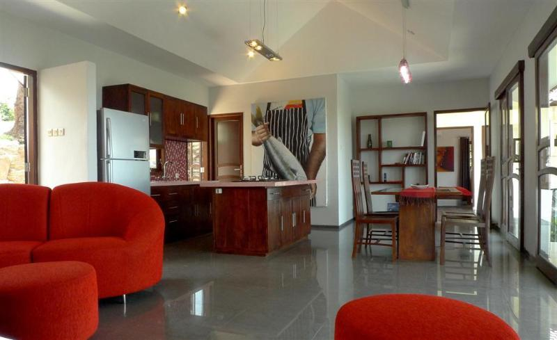 Modern North Bali Hillside Villa with Pool & Views - Image 1 - Lovina - rentals