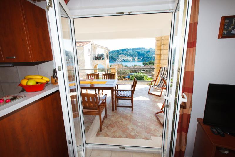 A2(4+2): balcony (house and surroundings) - 5114 A2(4+2) - Rogac - Rogac - rentals