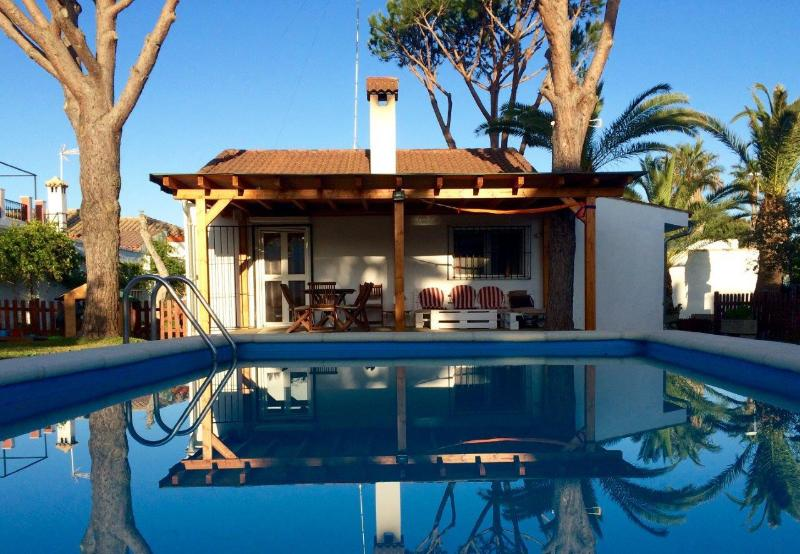 Pool private 6x4m, terace, lounge - Casa Tatooine - Chiclana, your holiday paradise. - Chiclana de la Frontera - rentals
