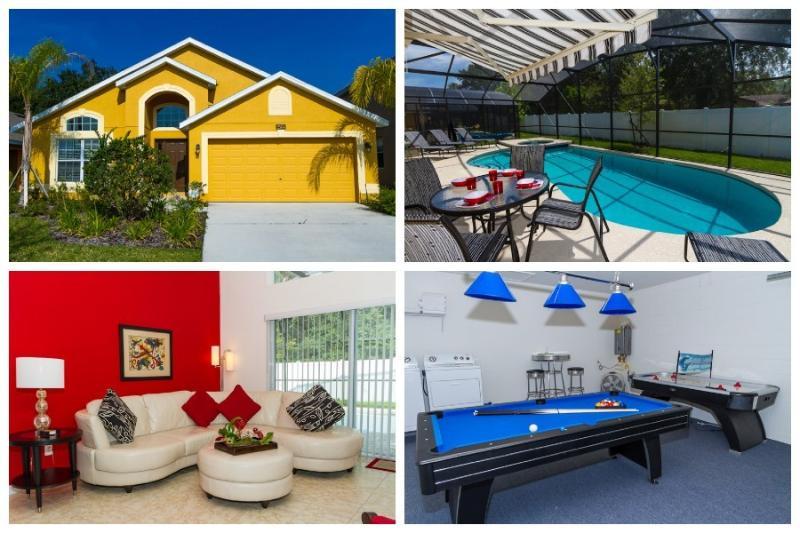 Wow - Mickey's Ritz- Luxury 4 Bed 3 Bath Villa - Kissimmee - rentals