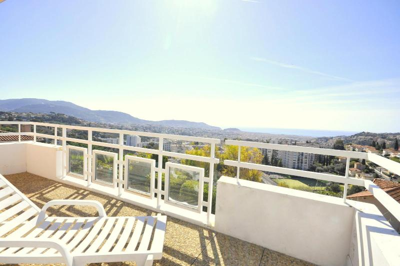 Second panoramic terace - Nice city center with sea view - 10 min beach - Nice - rentals