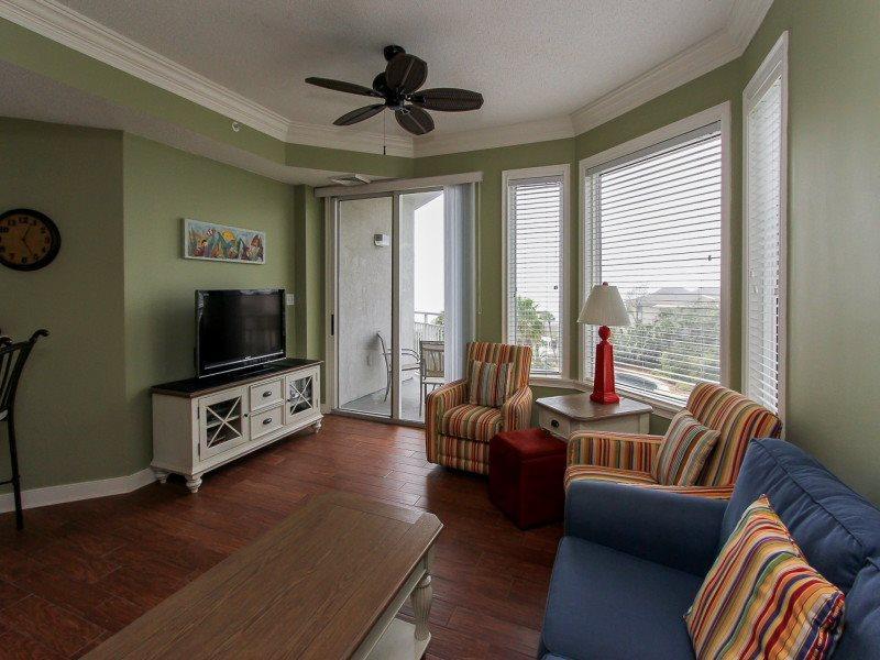 Living Room at 2404 Sea Crest - 2404 Sea Crest - Hilton Head - rentals
