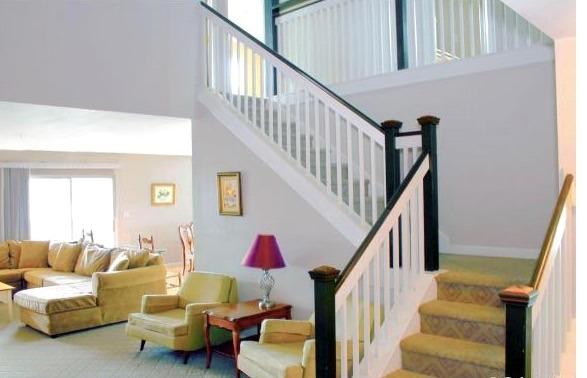 Two Story entrance Welocme to 3718 Sanibel Circle - Affordable Alternative Sanibel Village Penthouse - Rehoboth Beach - rentals