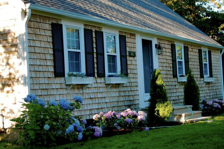 Close up of front of home - 61 Kelley Road West Harwich Cape Cod - West Harwich - rentals