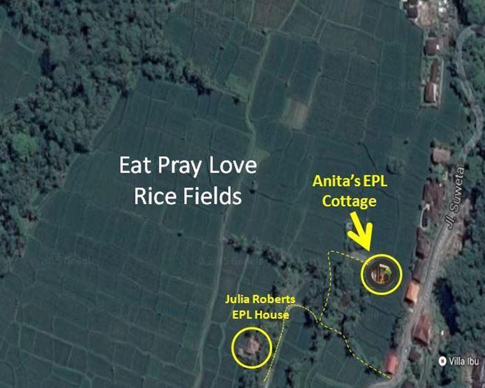 The real Ubud, Bali and the actual Eat Pray Love rice fields. - Anita's Eat Pray Love Rice Field Cottage Ubud Bali - Ubud - rentals