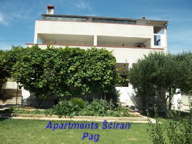 Apartmani Sciran - Ap 6+2 - Apartmani Šciran - Ap 6+2 - Pag - rentals