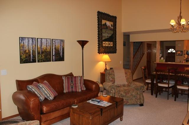 Living area - Whitefish Lake Condo near downtown Whitefish - Whitefish - rentals