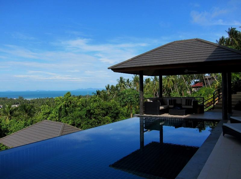 Large Infinity pool with panoramic sunset views - Sunset Heights Villa Koh Samui - Koh Samui - rentals