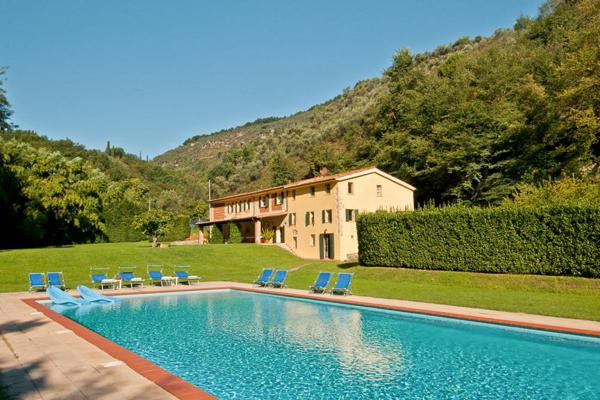 Large farmhouse on the same estate as La Damigella- close to Versilia resort. SAL ALI - Image 1 - Lucca - rentals