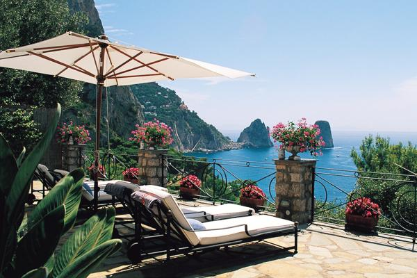 Easily accessible Capri villa by foot or by car. HII PIC - Image 1 - Amalfi Coast - rentals