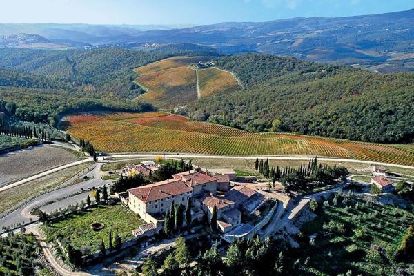 On the edge of CAstello di San Donato in Perano, this villa was restored so well it won an International Property Award in 2006. SAL CAV - Image 1 - Chianti - rentals