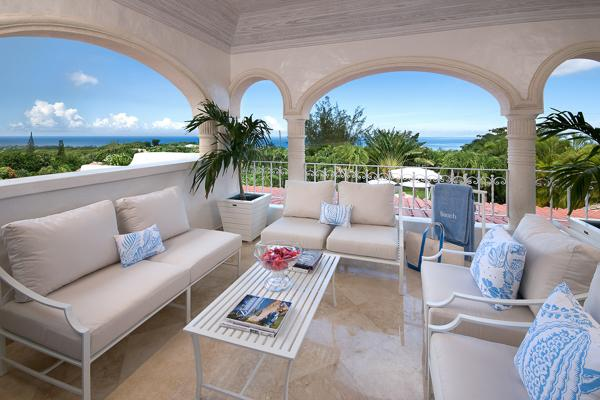 Panoramic Caribbean Sea views on approximately 1 acre of lush, tropical gardens. WCV MON - Image 1 - Barbados - rentals