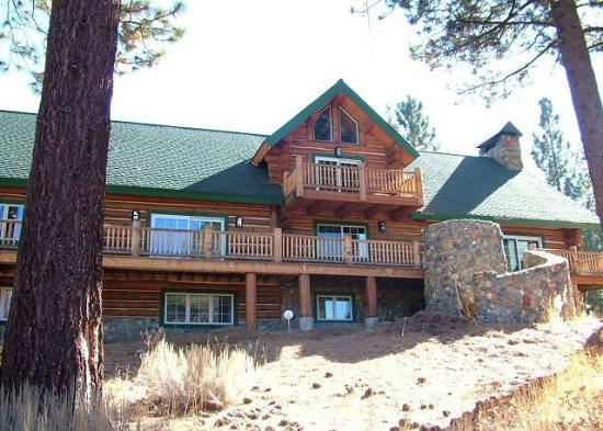 Huge Log home on a 16 acre lot, a unique Tahoe home in the pines. - Image 1 - South Lake Tahoe - rentals