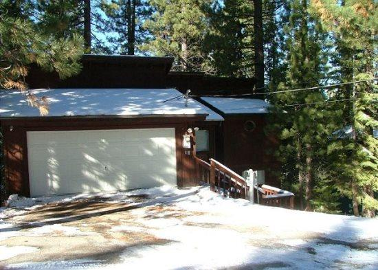 Tahoe cabin in the Pines, quiet location, wonderful back deck set in the trees, affordable pricing - Image 1 - South Lake Tahoe - rentals