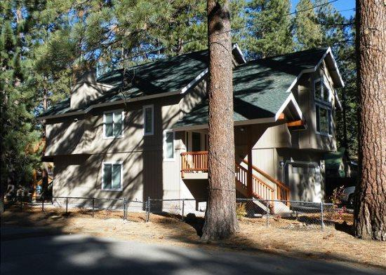 Just across the street from the Lake, great lakes views with private hot tub. New home. - Image 1 - South Lake Tahoe - rentals