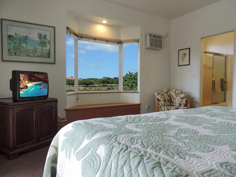 Mountain view from Bedroom Bay Window - Best Location & Best Rates in Poipu Beach Kauai - Poipu - rentals