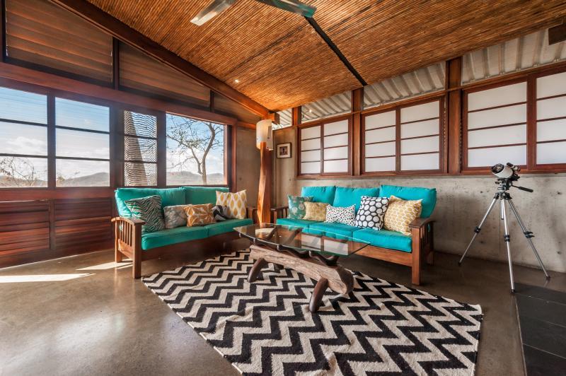 The comfortable media room - Casa Selva- Live the life in the Jungle House! - San Juan del Sur - rentals
