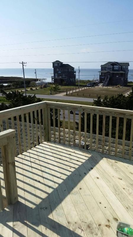 Sound view from new Crows nest! - OBX Fin & Tonic2 3BR/2BA house, sound-ocean views - Frisco - rentals