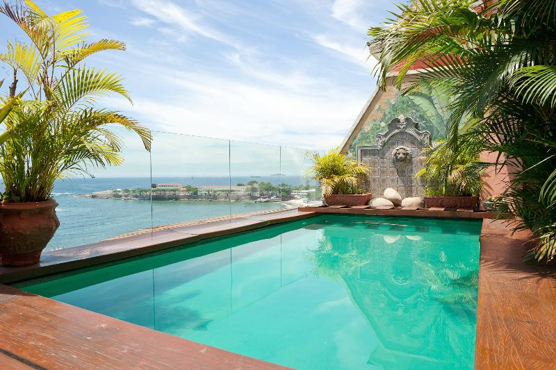 3 Suite Penthouse in Copacabana with Private Pool - Image 1 - Rio de Janeiro - rentals
