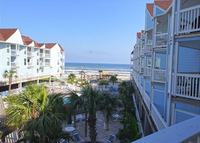 Beachfront condo with a great view of the beach! - Image 1 - Galveston - rentals