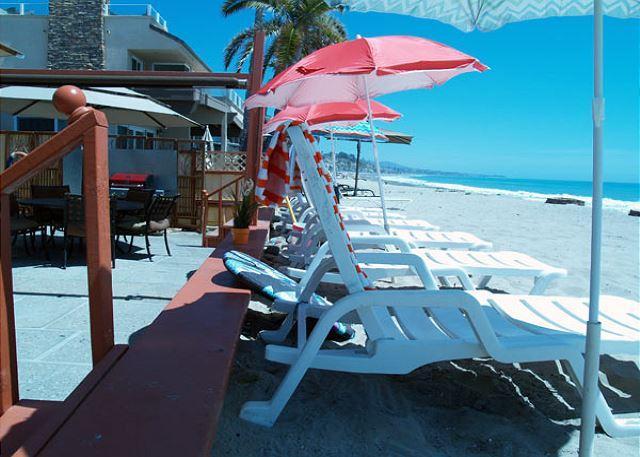 Beach Duplex on the Sand! PET FRIENDLY! Weekend OK! Sleeps 10 to 20 - Image 1 - Dana Point - rentals
