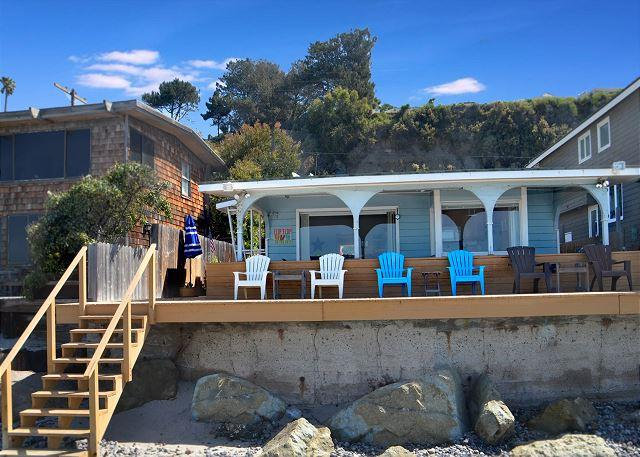 Adorable Beach Cottage Right on the Sand - PET FRIENDLY! Sleeps 9  (697) - Image 1 - Capistrano Beach - rentals