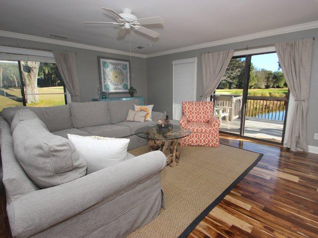 Living area - Queens Grant, 726 - Hilton Head - rentals