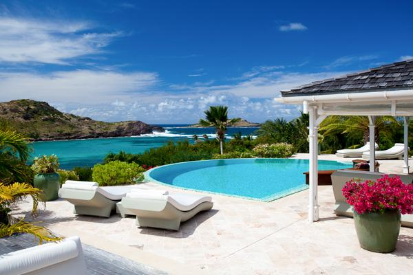 Elegant villa in Domaine du Levant offering a beautiful view WV AYE - Image 1 - Saint Barthelemy - rentals