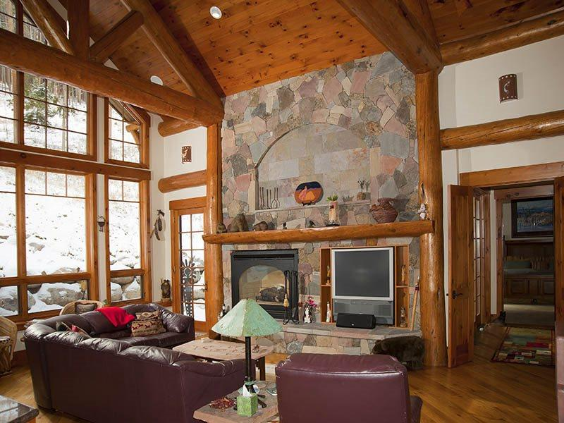 Living Room - Vermont-Road-Chalet - Vail - rentals