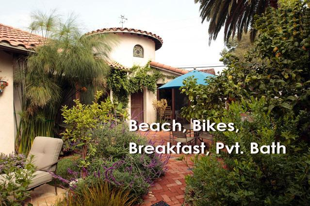 Entrance to paradise - Venice Beach Estate with Pvt. Spa Bath & Bikes - Los Angeles - rentals