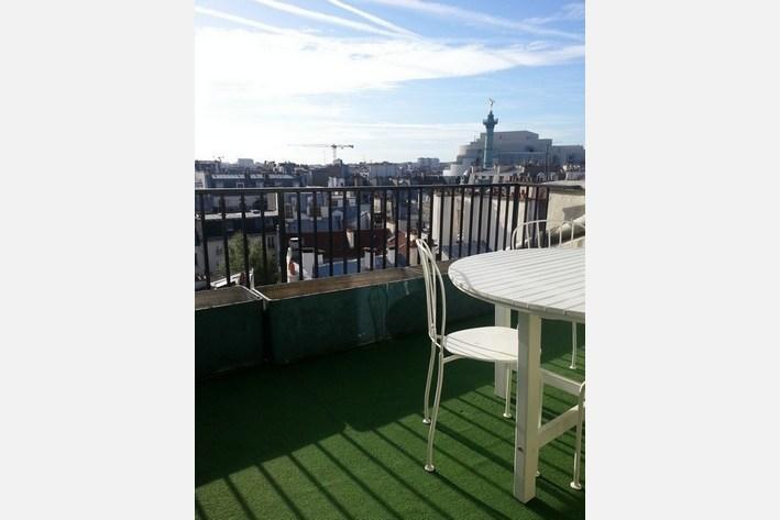 Amazing view -terrace-Marais 1BR apart (#40) - Image 1 - Paris - rentals