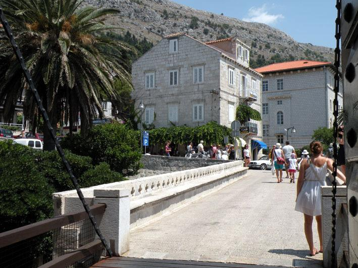 Dubrovnik b&b from the Old Town Gate of Ploce bridge. - Dubrovnik Bed and Breakfast - Dubrovnik - rentals