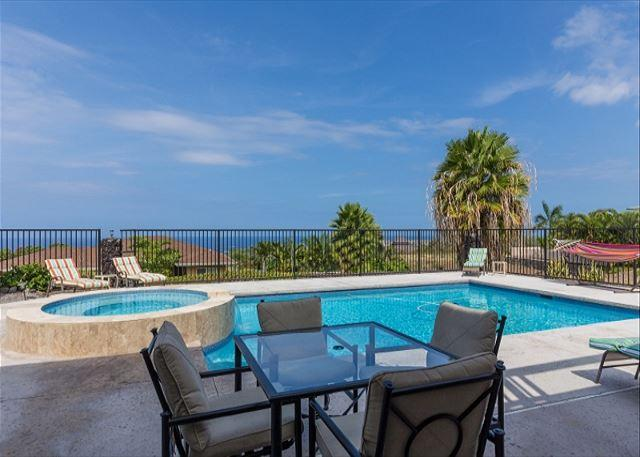 Large Private Pool with Ocean Views - Kawena5, Five bedrooms with 5 bathrooms, great Ocean View.-PHKawena - Kailua-Kona - rentals