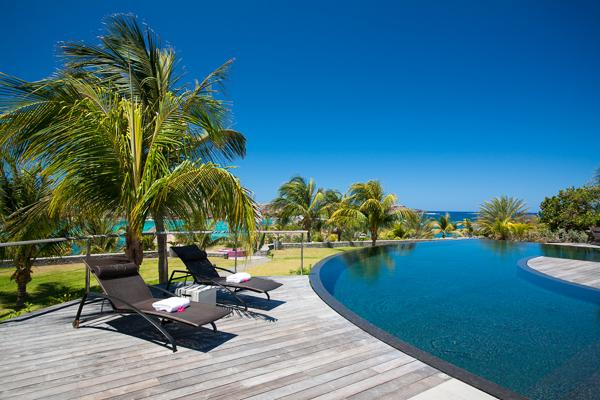 Impressive villa with stunning view of Petit Cul de Sac in St Barts WV SIL - Image 1 - Saint Barthelemy - rentals