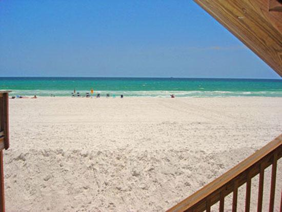 The breathtaking view at Green Reef #13 - Green Reef, Beach Front, Affordable 2/3 - Destin - rentals