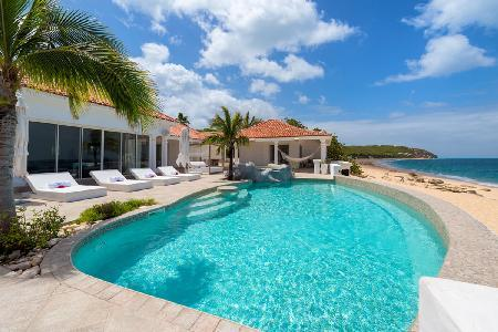 Carisa - Gorgeous beachfront villa with pool, contemporary styling & top quality audio system - Image 1 - Saint Martin-Sint Maarten - rentals