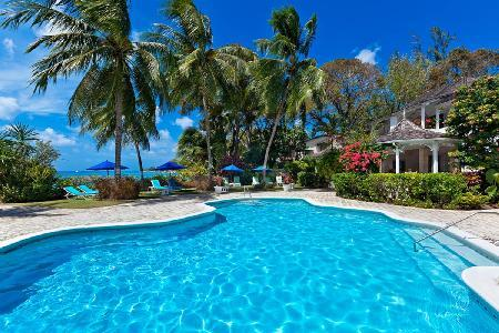 Caribbean sea view Aspicia at Emerald Beach (1)- tropical gardens & beach access - Image 1 - Barbados - rentals