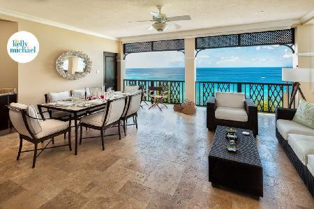 Sandy Cove 302 - Luxury beachfront condo with facilities access, plunge pool & direct beach access - Image 1 - Derricks - rentals