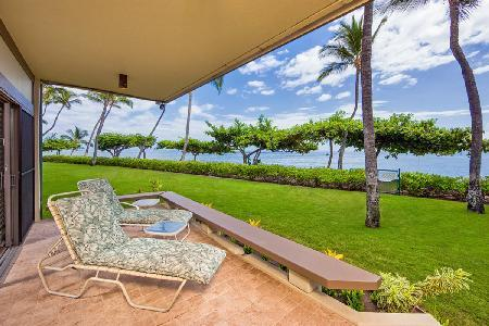 Fabulous beachfront Puunoa Beach Estates - Condominium 105 with housekeeper - Image 1 - Maui - rentals