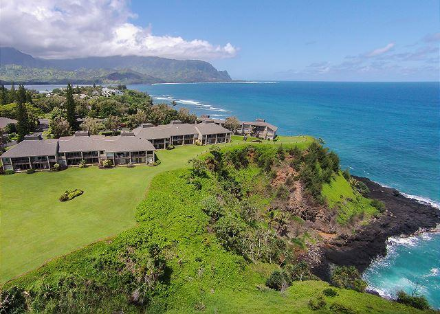 Pali Ke Kua #204: Ocean and Sunset views from your own private lanai... - Image 1 - Princeville - rentals