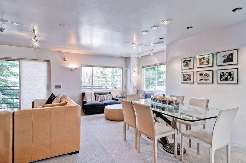 living_area_1.jpg - Dolomite Condominiums Unit 8 - Aspen - rentals